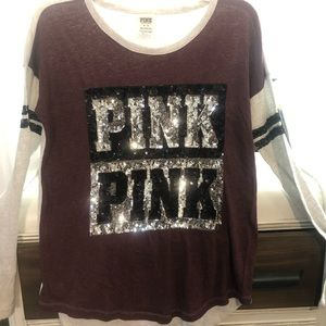 Pink Bling Sweater
